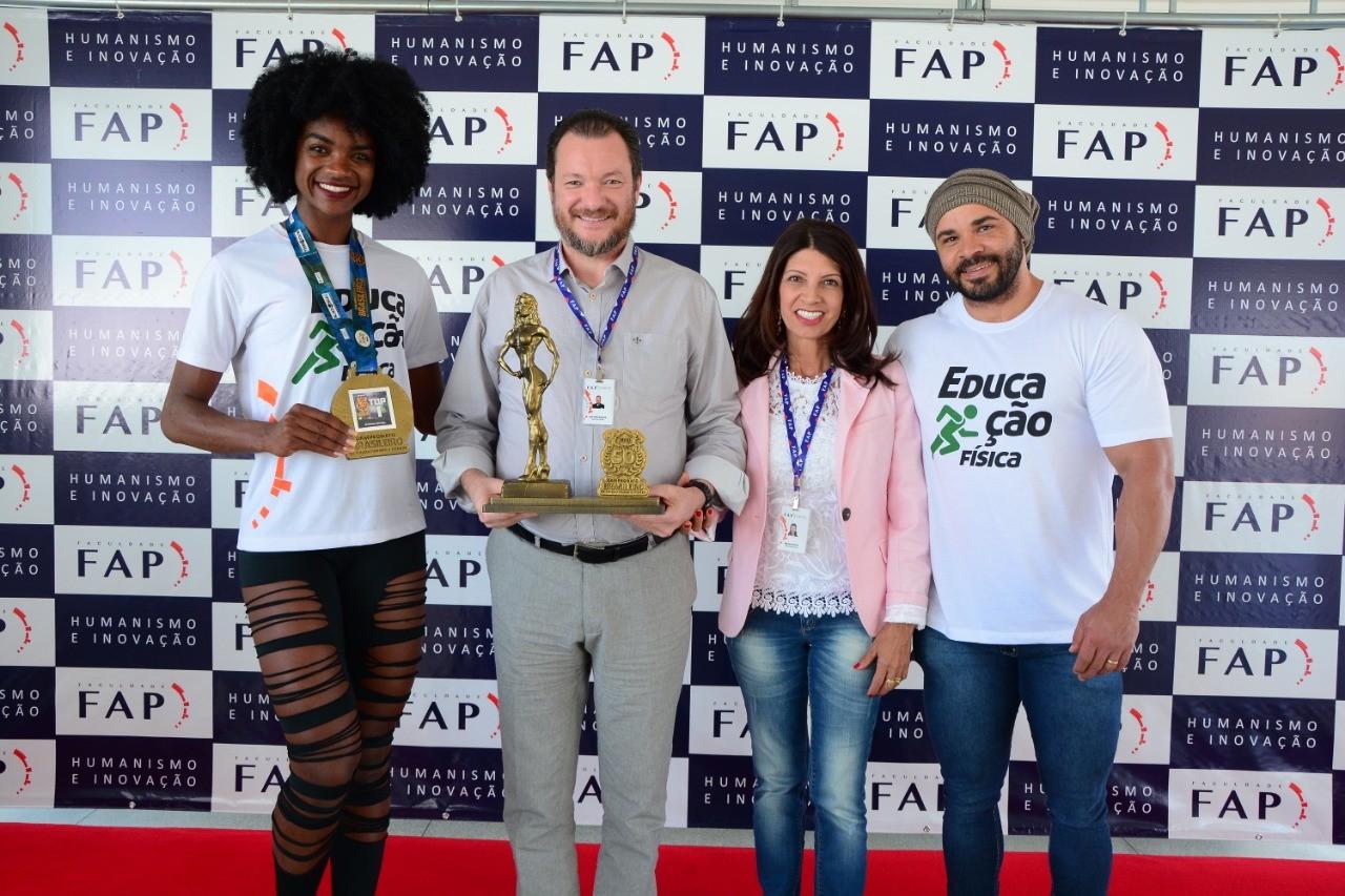 Atletas agradecem apoio da FAP para competir em campeonato nacional