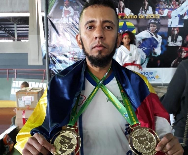 Acad�mico de Ed. F�sica da FAP conquista o bronze em Campeonato Brasileiro de Taekwondo