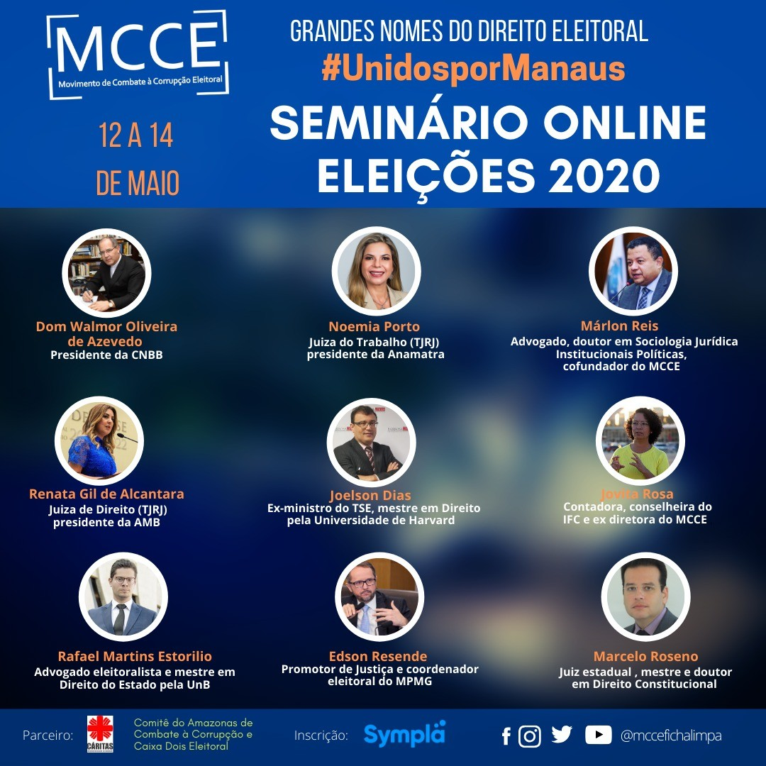 Semin�rio online vai discutir Direito eleitoral e pol�tico: saiba como participar