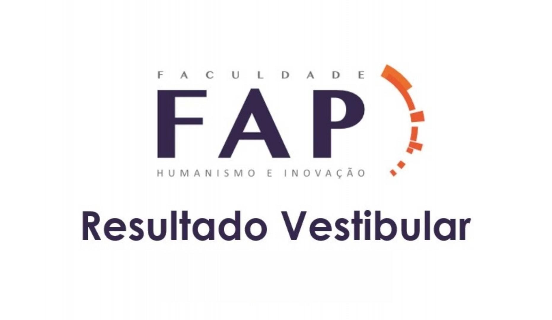 FAP divulga aprovados no vestibular 2021/1