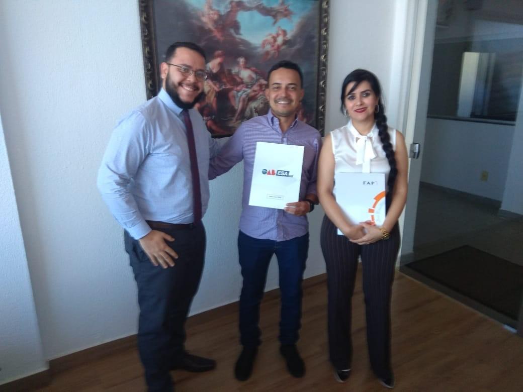 FAP firma parceria com a Escola Superior de Advocacia de Piracanjuba